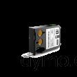 DYMO 1868808 XTL Flexible Cable Wrap 24mm Black on White