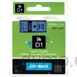 Dymo S0720710 D1 40916 Tape 9mm x 7m Black on Blue