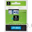 Dymo S0720940 D1 53714 Tape 24mm x 7m Blue on White