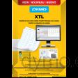 DYMO XTL Cable Wrap Sheet Labels