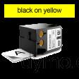 DYMO 1868771 XTL All-Purpose Vinyl 12mm Black onYellow