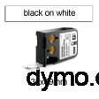 DYMO 1868708 XTL Cable Wrap 38x39mm Black on White