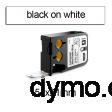 DYMO 1868710 XTL Cable Wrap 51x21mm Black on White