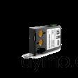 DYMO 1868669 XTL Label 9x25mm Black on White