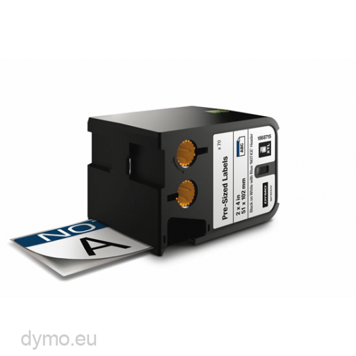 DYMO 1868715 XTL Label 51x102mm blauwe kop