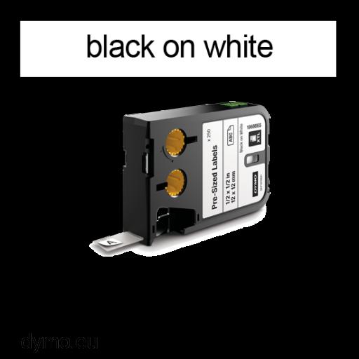 DYMO 1868701 XTL Label 19x25mm Black on White
