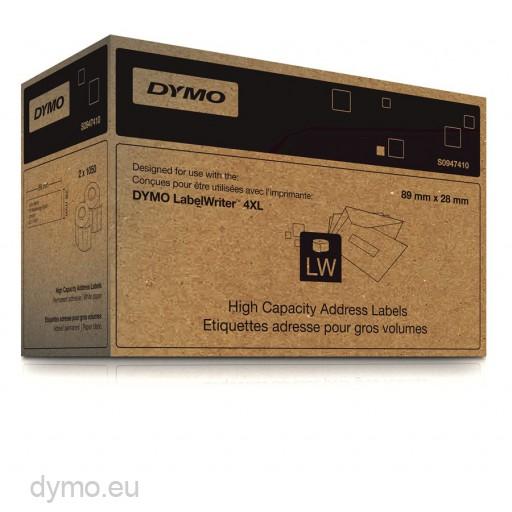 Adresetiketten voor LabelWriter 4XL