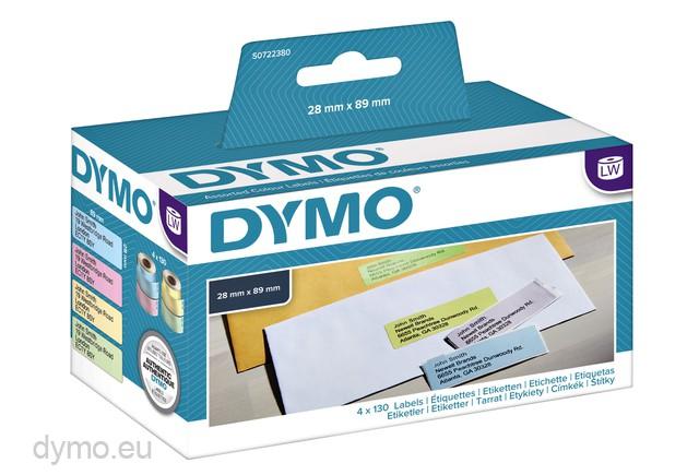 Register Etiketten Rolle für Dymo 99018 Labelwriter 310 320 330 400 450 Turbo