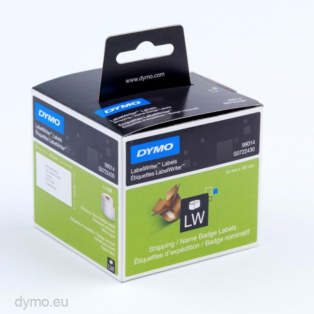 dymo 99014 shipping name badge labels. Black Bedroom Furniture Sets. Home Design Ideas