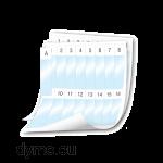 DYMO 1908554 XTL 24x103mm Cable Wrap Sheet Labels