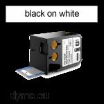DYMO 1868732 XTL Shrink Tube 12x47mm Black on White