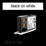 DYMO 1868736 XTL Permanent Flat 9mm Black on White