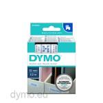 Dymo S0720540 D1 45014 Tape 12mm x 7m Blue on White