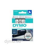 Dymo S0720680 D1 40913 Tape 9mm x 7m Black on White