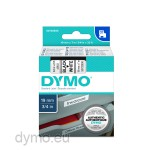 Dymo S0720830 D1 45803 Tape 19mm x 7m Black on White