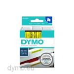 Dymo S0720880 D1 45808 Tape 19mm x 7m Black on Yellow