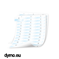 DYMO 1908557 XTL 54x23mm Cable Wrap Sheet Labels