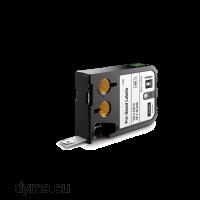 DYMO 1868667 XTL Label 12x38mm Black on White