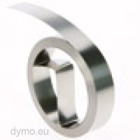 Dymo 31000 Tape M11 aluminium no glue, 12mm x 4.80m