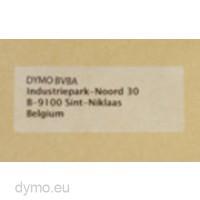 Dymo 99013 Large Address Labels 36x89mm Transparent Plastic